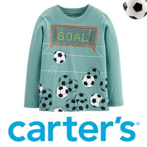 ••5-for-$25•• CARTER'S ⚽️ GOAL Tee